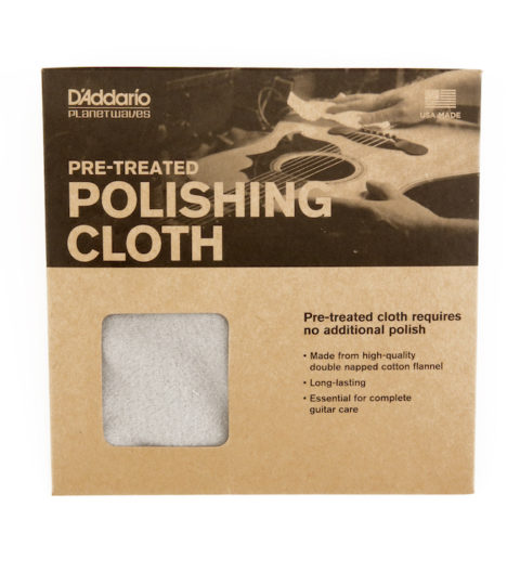 D'Addario Pre-Treated Polishing Cloth