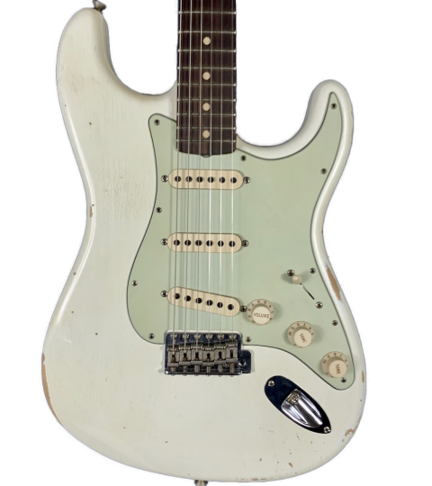 Fender Custom Shop '60 Relic Stratocaster Olympic White 2017