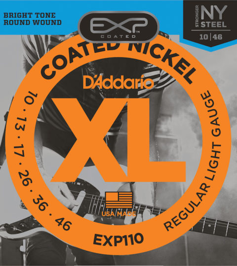 D'Addario EXL110 Nickel Wound Regular Light Strings