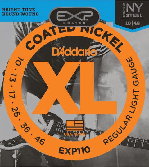 D'Addario EXL110 Nickel Wound Regular Light Strings
