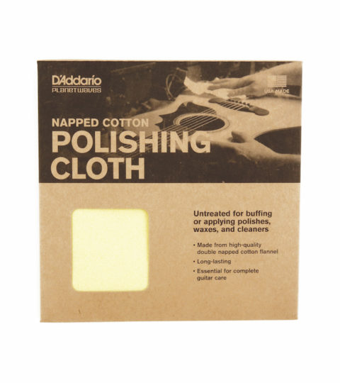 D'Addario Untreated Polishing Cloth
