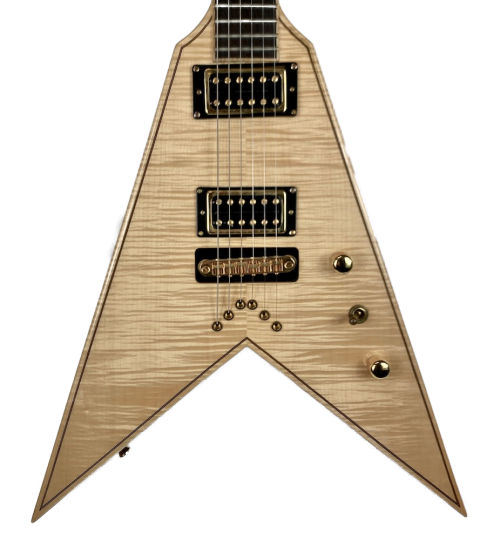 Custom Build Flying V Maple/Walnut UK Early 2000s