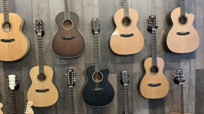 Leo & Ted's Launch Auden Guitars