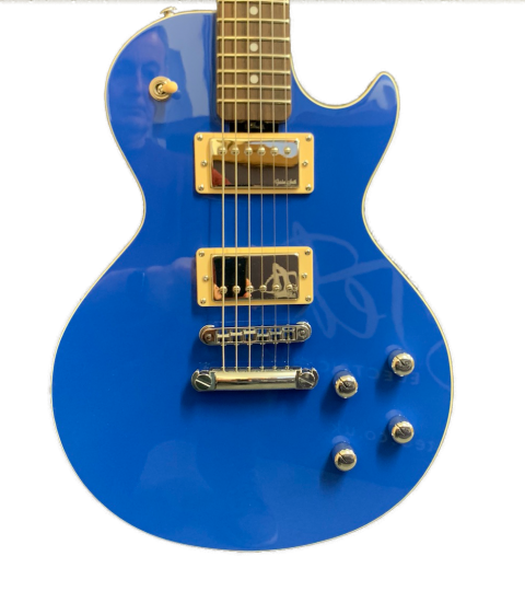 Gordon Smith GS-Deluxe Single Cut Classic Blue