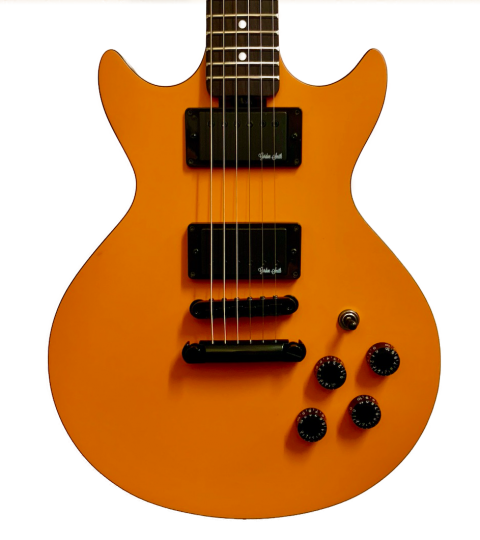 Gordon Smith GS-Deluxe Double Cut Orange Peel