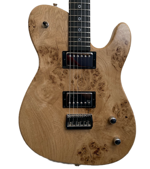 Crimson Descendant Raw Series Burled Oak