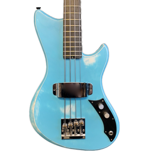 Alpher Mini Mako Prime 21-fret Bass
