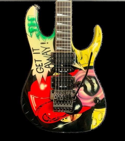"Ibanez USA Custom ""Get It Away"" Hand Painted 1990"