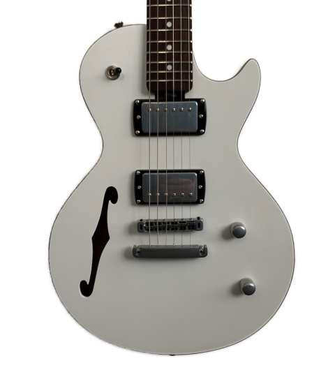 Gordon Smith GS-Export Deluxe Semi Solid White Sparkle