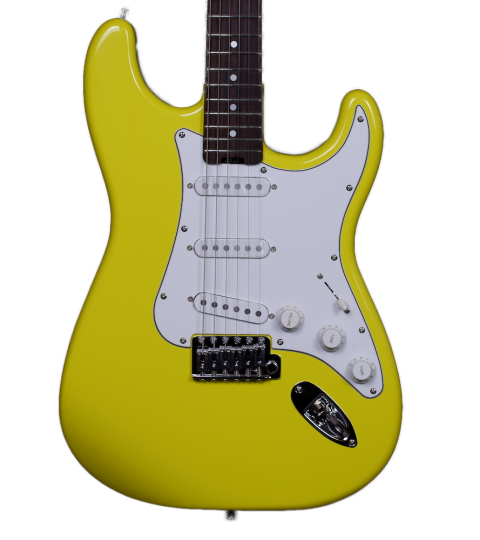 Gordon Smith Classic S Graffiti Yellow
