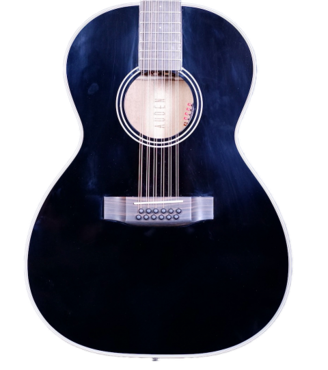 Auden Special Chester Jet Black 12-string
