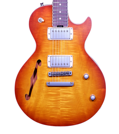 Gordon Smith GS-Export Deluxe Semi Solid Vintage Honey Burst