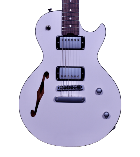 Gordon Smith GS-Export Deluxe Semi Solid Ice White