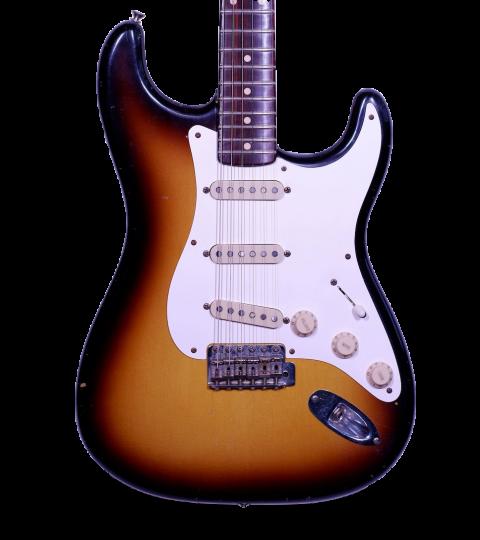 Fender Custom Shop Stratocaster Masterbuilt Rosewood Neck 2001